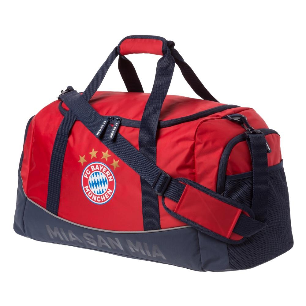 FC Bayern München Tasche Sporttasche rot FCB plus Lesezeichen I love München