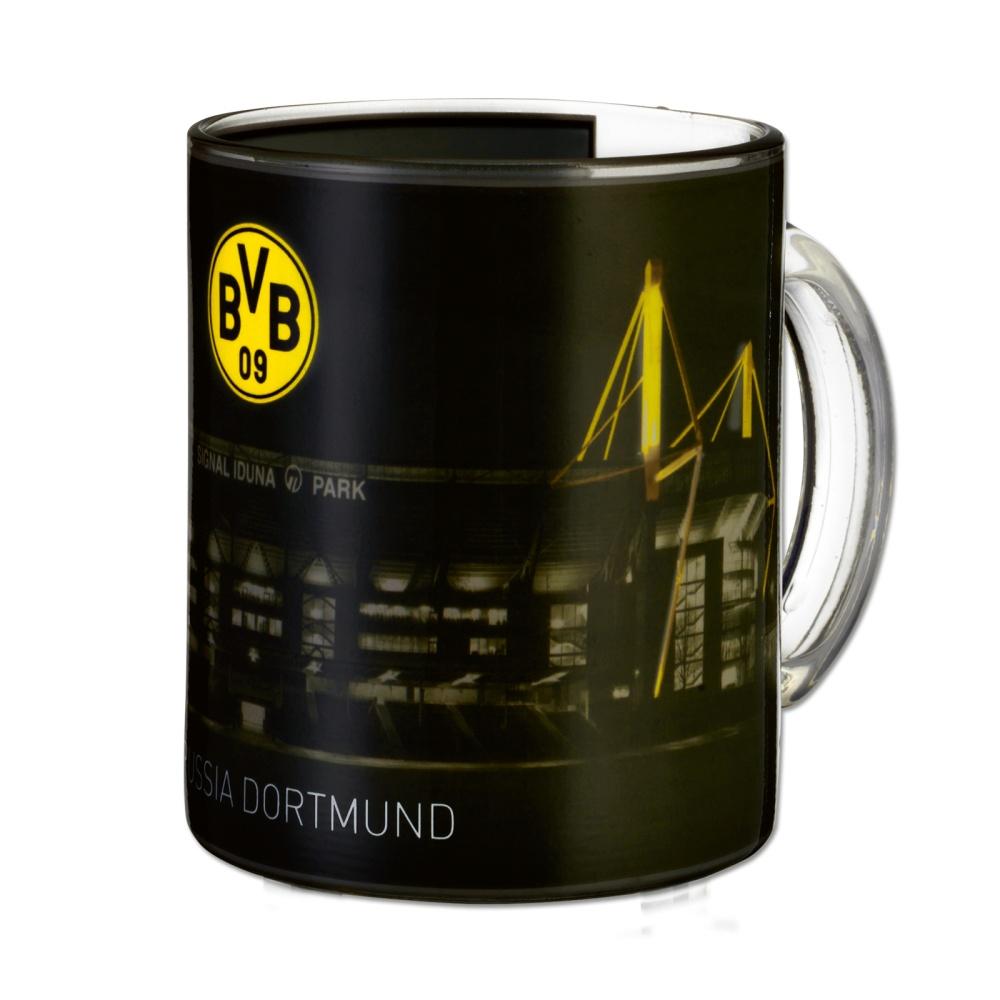 Zauberglas Kaffeetasse Mug BVB 09 L Borussia Dortmund Tasse