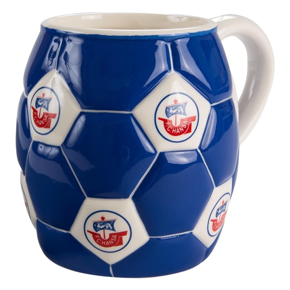F.C Hansa Rostock Tasse EMAILLE