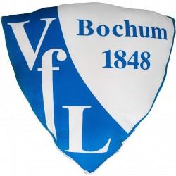 VfL Bochum 1848 Nickikissen Logo, Kissen, Kuschelkissen, Dekokissen  - plus Lesezeichen Wir lieben Fußball