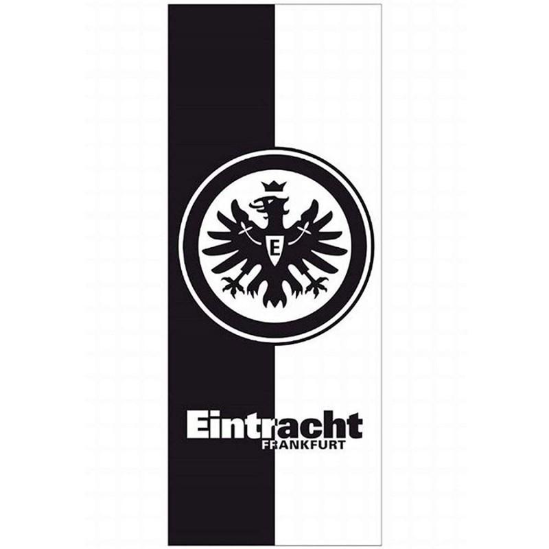 Eintracht Frankfurt Schwarz Weiss Badetuch 70x180cm