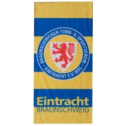 Eintracht Braunschweig Multifunktionstuch Streifen, Schlauchschal, Tuch, Halstuch - plus Lesezeichen Wir lieben Fußball