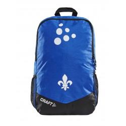 Craft SV Darmstadt 98 Rucksack blau-weiß, Backpack  - plus Lesezeichen Wir lieben Fußball