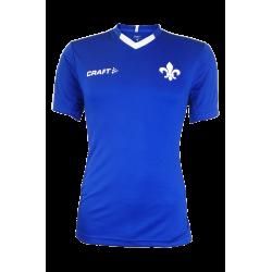 Craft SV Darmstadt 98 Aufwärmshirt blau-weiß, Progress Jersey Contrast Shirt div. Größen - plus Lesezeichen Wir lieben Fußball
