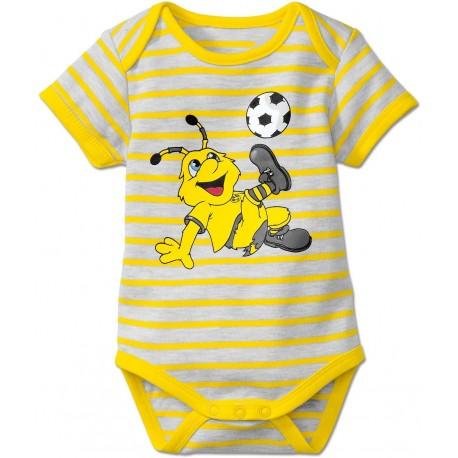 Borussia Dortmund Baby Body - Emse - kurzarm
