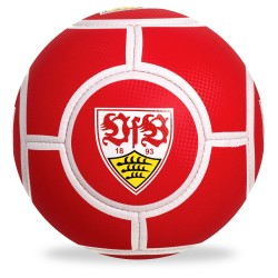 VfB Stuttgart Fußball rot, Ball Stuttgart Gr. 5  - plus Lesezeichen Wir lieben Fußball