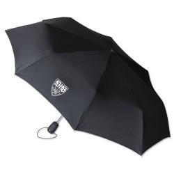 VfB Stuttgart Taschenschirm, Schirm, Regenschirm, umbrella - plus Lesezeichen Wir lieben Fußball