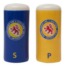 Eintracht Braunschweig Salz- und Pfefferstreuer Logo, Gewürzstreuer - plus Lesezeichen Wir lieben Fußball