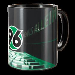 Hannover 96 Zaubertasse - Spielertunnel - Magic Mug, Tasse, Kaffeepott H96 - plus Lesezeichen I love Hannover