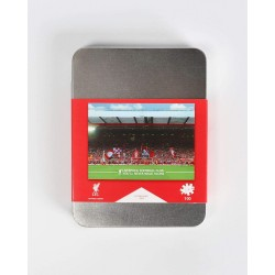 FC Liverpool Puzzle - Anfield Road Stadion - 100 Teile Puzzle in der Metallbox LFC