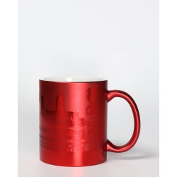 FC Liverpool Tasse Metallic - Panorama - Kaffeetasse rot, Kaffeepott, Mug, Becher LFC