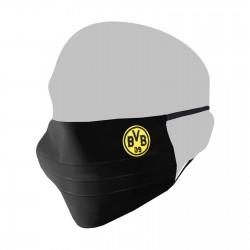 Borussia Dortmund - Mund-Nasen-Schutz schwarz - BVB 09 Community Maske (L)