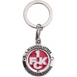 1. FC Kaiserslautern Schlüsselanhänger Spinner,  Anhänger, Keychains  FCK - plus Lesezeichen I love Kaiserslautern