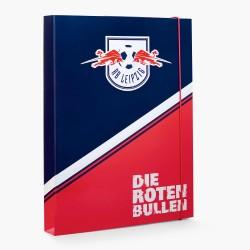RB Leipzig Heftebox - Die roten Bullen - Sammelmappe,  Dokumentenmappe, Aufbewahrungsmappe - plus Lesezeichen Wir lieben Fußball