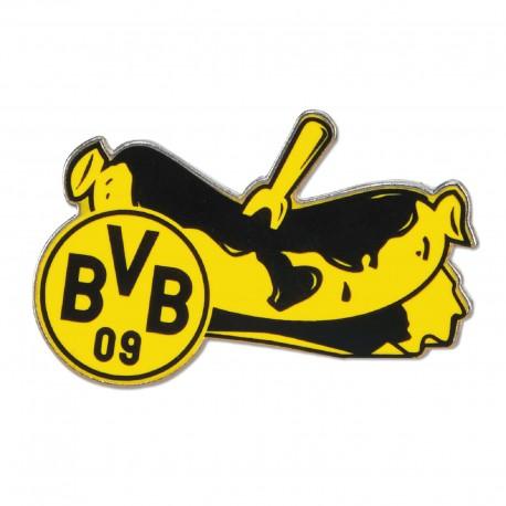 Borussia Dortmund Anstecker Bratwurst Pin Button Bvb 09 New Fancorner