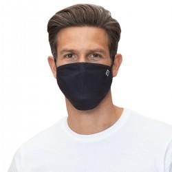 Hamburger SV Mund Nase Abdeckung - Raute - schwarz waschbare Community-Maske HSV