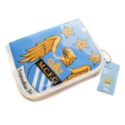 Manchester City FC Schuletui gefüllt, Federmappe, Etui, Federtasche - Plus Lesezeichen Wir lieben Fußball