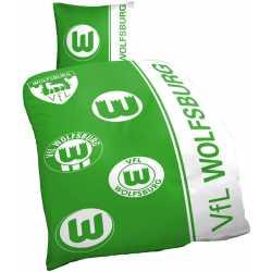 VfL Wolfsburg Bettwäsche - Logo Historie -