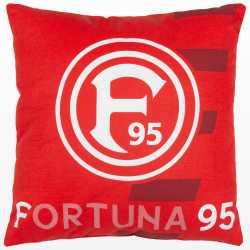 Fortuna Düsseldorf Kissen - F95 rot