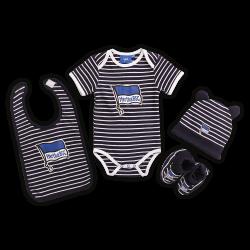 Hertha BSC Berlin Baby Set - navy-weiß