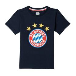 FC Bayern München T-Shirt - Logo navy Kinder