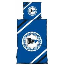DSC Arminia Bielefeld Bettwäsche blau Logo