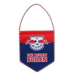 RB Leipzig Split Wimpel Logo, Auto Banner Die Roten Bullen, Autowimpel RBL - Plus Lesezeichen Wir lieben Fußball