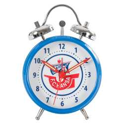 FC Hansa Rostock Glockenwecker - Logo - blau, Wecker, Uhr, alarm clock  (L)