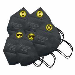 Borussia Dortmund - FFP2-Maske - 5er Set