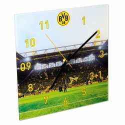 Borussia Dortmund - Wanduhr Südtribüne - Uhr BVB 09