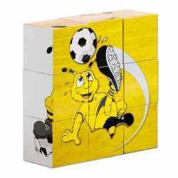 Borussia Dortmund - Bilderwürfel - Baby Würfelpuzzle BVB 09