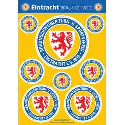 Eintracht Braunschweig Aufkleberbogen A5