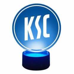 Karlsruher SC LED Lampe Logo