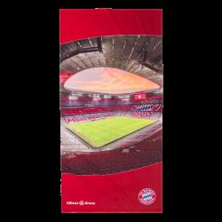 FC Bayern München Strandtuch - Allianz Arena - 90 x 180 cm