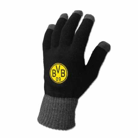 Borussia Dortmund  Smartphonehandschuh schwarz Smartphone Handschuhe unisex BVB