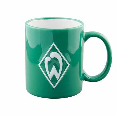SV Werder Bremen Tasse - Raute - grün