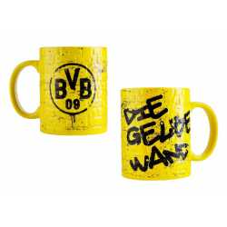 Borussia Dortmund Kaffeetasse - Gelbe Wand