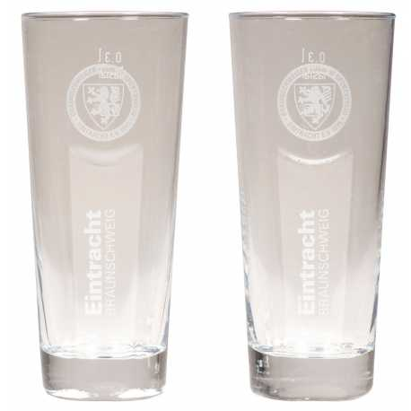Eintracht Braunschweig Trinkglas 2er Set