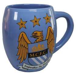 FC Manchester City Tee Tasse, Becher, tea mug Plus Lesezeichen Wir lieben Fußball