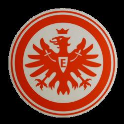 Eintracht Frankfurt Aufkleber Logo rot