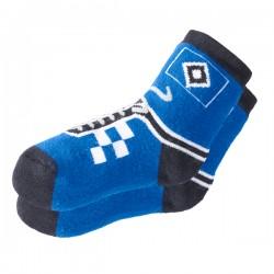 Hamburger SV Kinder ABS Socken, Antirutsch Stoppersocken div. Gr. HSV - plus Lesezeichen I love Hamburg