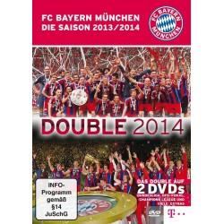 FC Bayern München DVD - Double 2014 Die Saison 2013/14 - 2er Set FCB