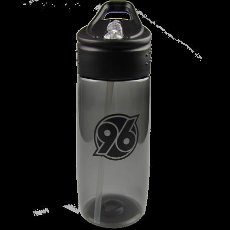 Hannover 96 Trinkflasche, Flasche, Bottle - transparent anthrazit 0,5 l