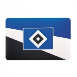 "Hamburger SV Tischset / Platzset 2er-Set - plus gratis Lesezeichen ""I love Hamburg"""