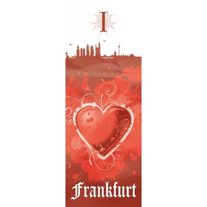 Plus gratis Lesezeichen I Love Frankfurt Eintracht Frankfurt Aufkleber Autoaufkleber Logo Gold 30 cm Sticker