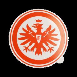 Eintracht Frankfurt Aufkleber Logo rot 30 cm Sticker, Autoaufkleber SGE - plus Lesezeichen I love Frankfurt