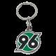 Hannover 96 Schlüsselanhänger, Anhänger Logo H96 - plus gratis Lesezeichen I love Hannover
