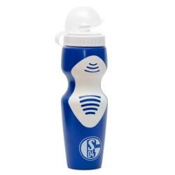 FC Schalke 04 Trinkflasche 0,5 l, Flasche Signet  S04  - plus gratis Lesezeichen I love Gelsenkirche
