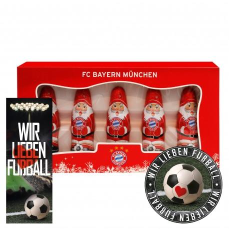 Bundesliga Mini Weihnachtsmänner, Weihnachtsmann, Weihnachten