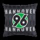 Hannover 96  Kissen Skyline, Kuschelkissen, Dekokissen H96  - plus gratis Lesezeichen I love Hannover